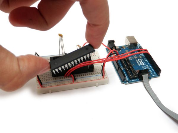 Bootload an Arduino connection