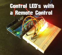 Arduino – Control LEDs with a Remote Control
