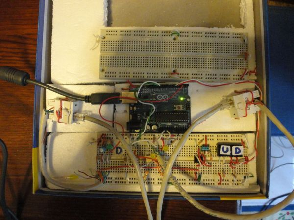 Arduino and CueCat barcode scanner