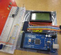 Arduino powered GLCD (Graphic LCD)