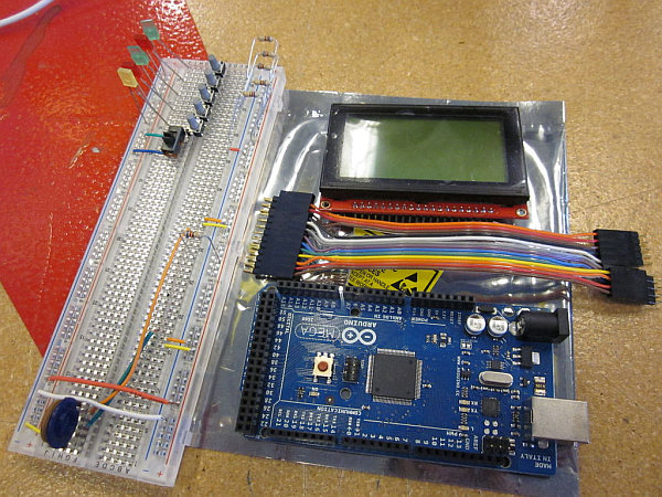 Arduino powered GLCD (Graphic LCD) -Use Arduino for Projects