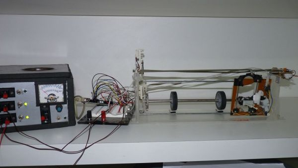 Homemade arduino printer