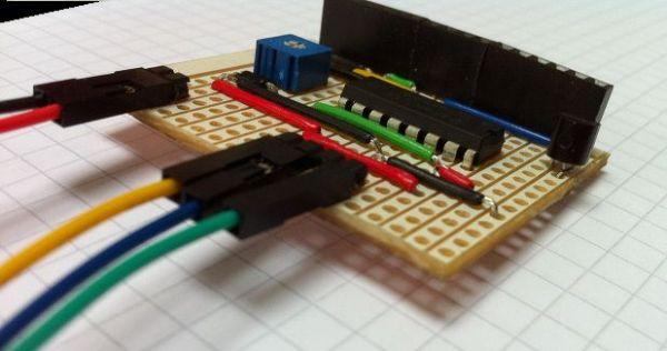 Hookup an LCD arduino