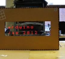 Mechanical Led Matrix Display