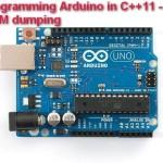 Programming Arduino in C++11 -- ROM dumping