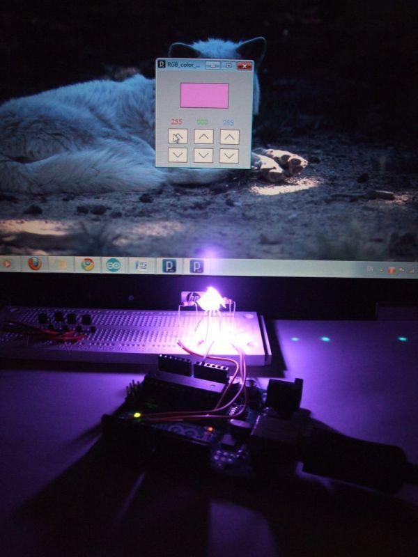 RGB's with Arduino
