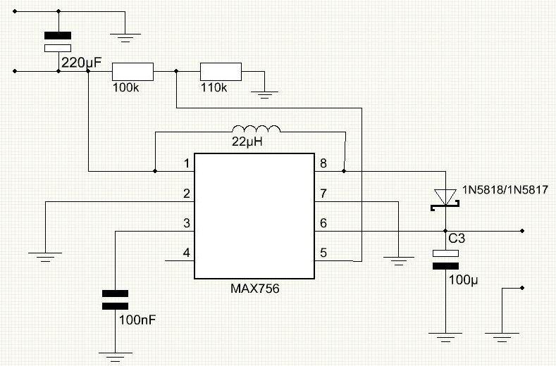 Schematic Arduino AA Undershield