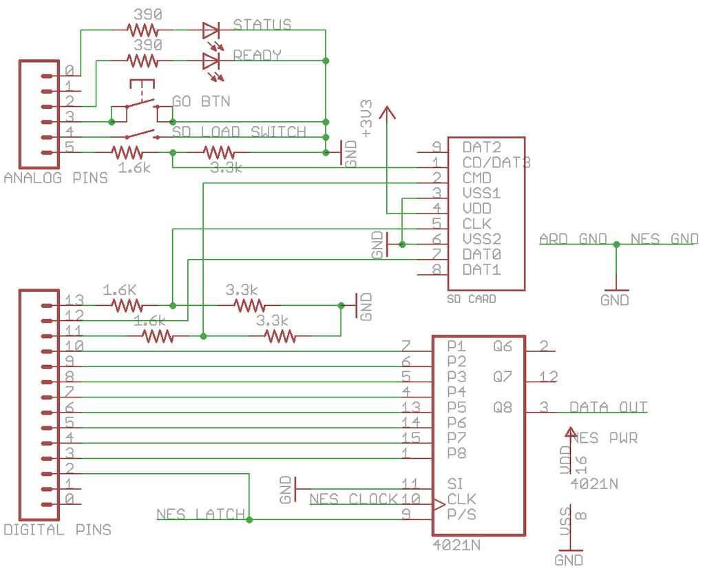 Schematic Arduino Powered Robot