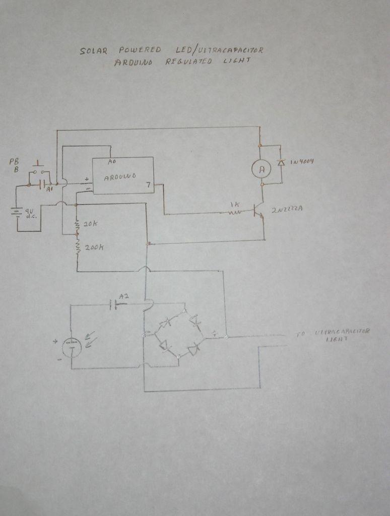 Schematic Arduino Regulated Light