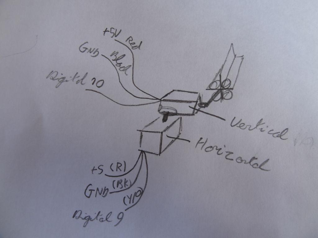 Schematic Arduino Solar Tracker