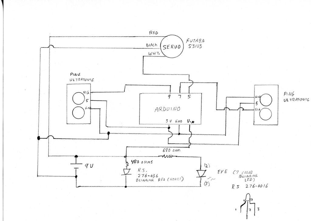 Schematic Arduino Wex Robot