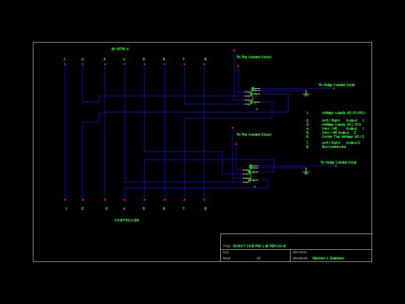 Schematic Arduino Wheelchair Robot