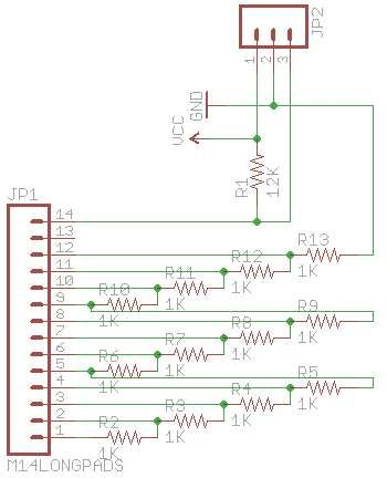 Schematic Arduino equation solver