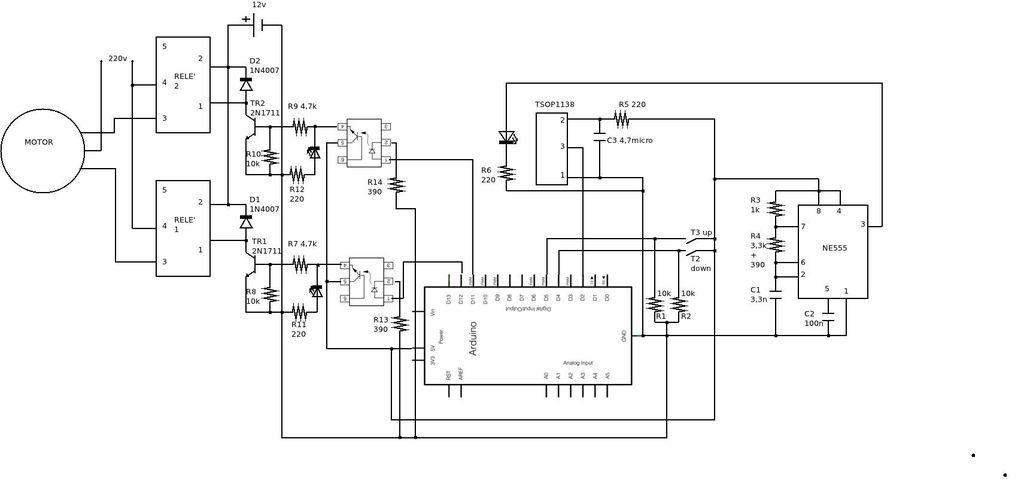 Schematic Domotic arduino