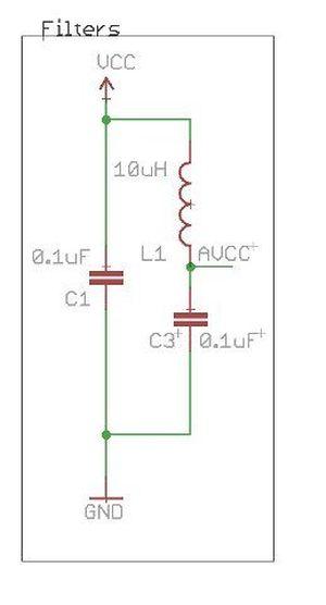 Schematic IO pin Ardunio