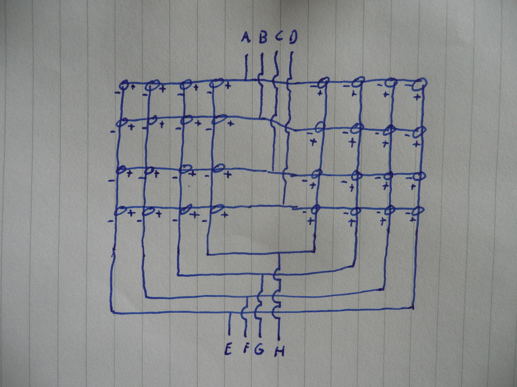 Led Cube Circuit Diagram | 4x4x4 Interactive Led Cube With Arduino Use Arduino For Projects