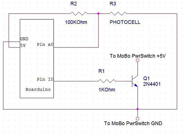 Sonic Switch Schematic