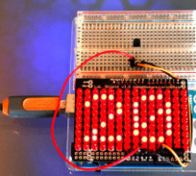 An Arduino Thermometer with Digital Display
