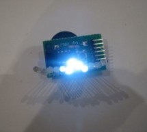 Tiny Wearable LED kit – 12 PWM LEDs from a reprogramable ATtiny85