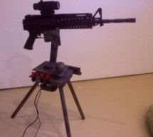 Autonomous Paintball Sentry Gun using Arduino