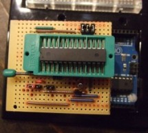 ArduinoISP Bootloader/Programmer Combination Shield