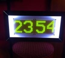 Rainbow Mega Pong Clock using Arduino