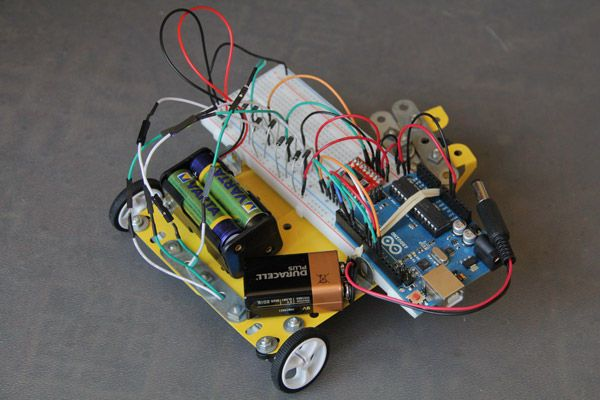 arduino Using the Sparkfun Motor Driver