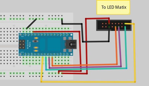schematic Arduino Processing Audio Spectrum Analyzer
