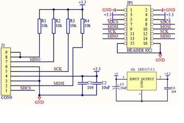 schematic  Arduino Serial Data Logger
