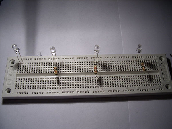 schematic led madness