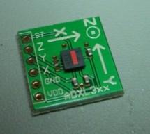 ADXL3xx Accelerometer using an Arduino