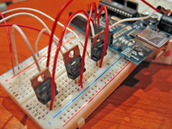 An amplifier for Arduino