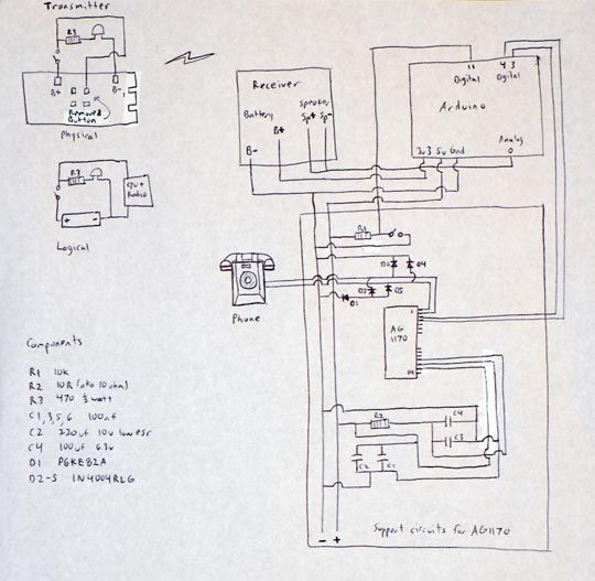Antique Phone Doorbell Schematic