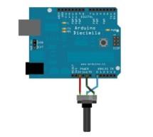 Analog Input using Arduino