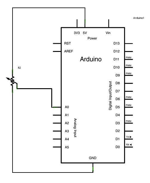 Arduino Analog Read Voltage Schematic