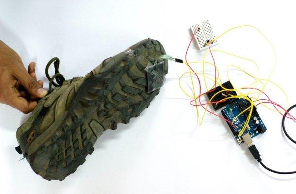Arduino Beat Feet