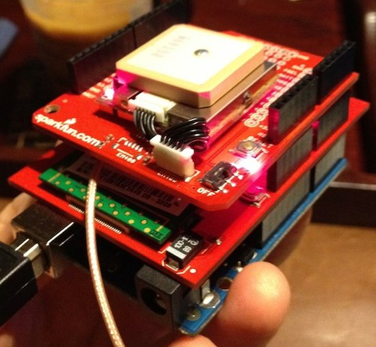 Real-Time Arduino GPS Tracker with iPhone app -Use Arduino ...