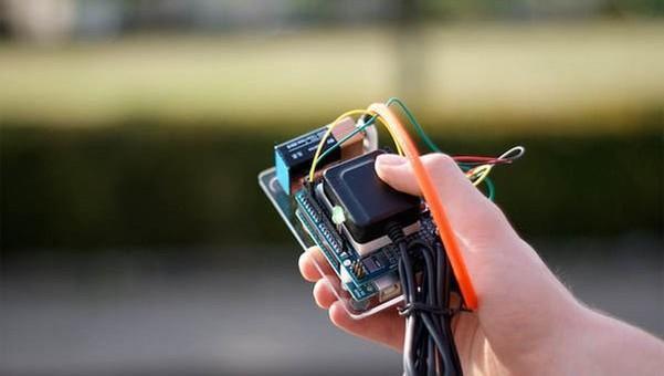 Arduino GPS Tracking System