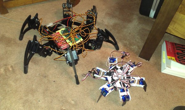Arduino hexapod robot use for projects