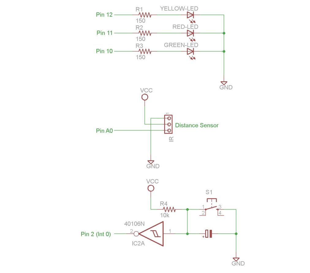 Arduino Interrupts And Debouncing Use For Projects Relay Switch Debounce Schematic