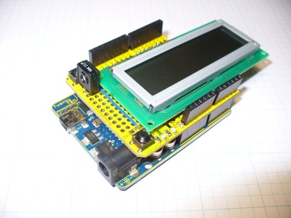 Arduino LCD-shield