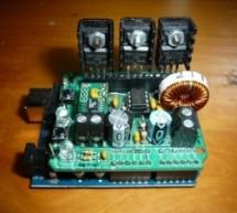 Arduino Peak Power Tracker Solar Charger