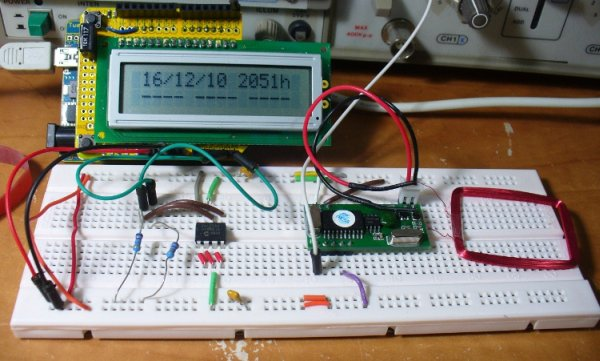 Build an RFID time-clock system using Arduino -Use Arduino