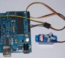 Arduino Servo Basic Code