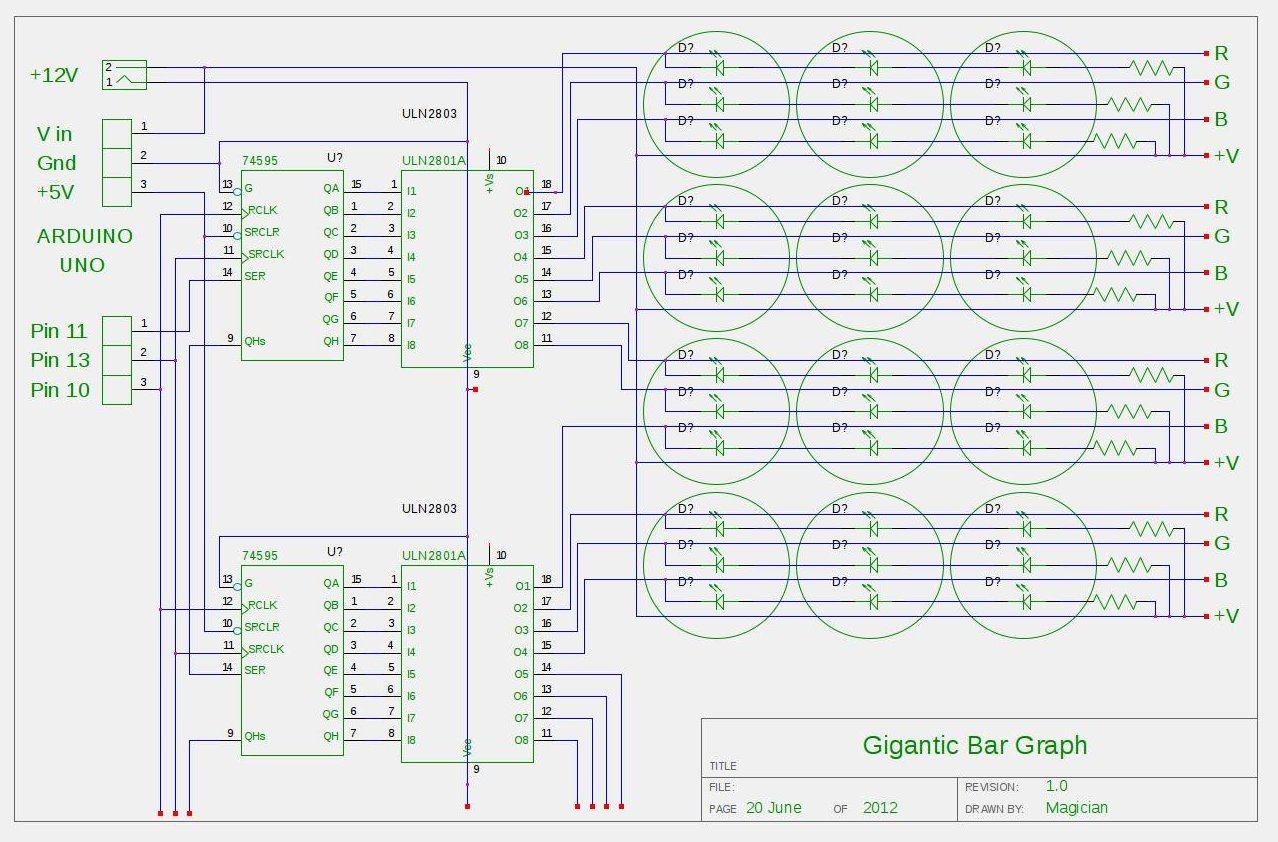 Arduino Tears of Rainbow Schematic
