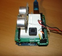 Arduino theremin like musical instrument