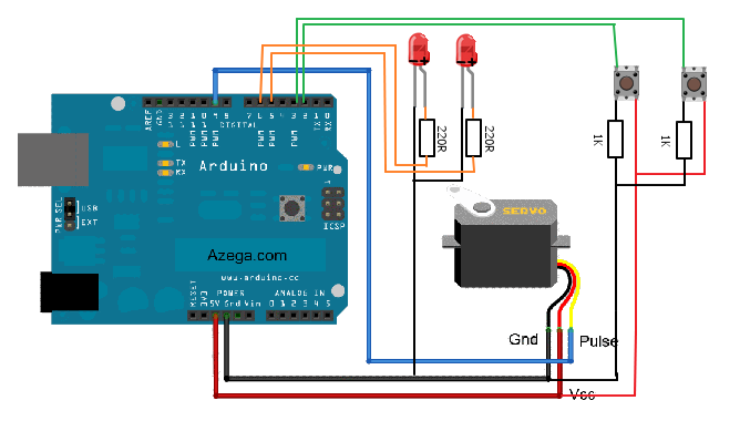 How To Control A Servo Using Arduino Use Arduino For Projects