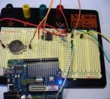An Arduino real time clock shield