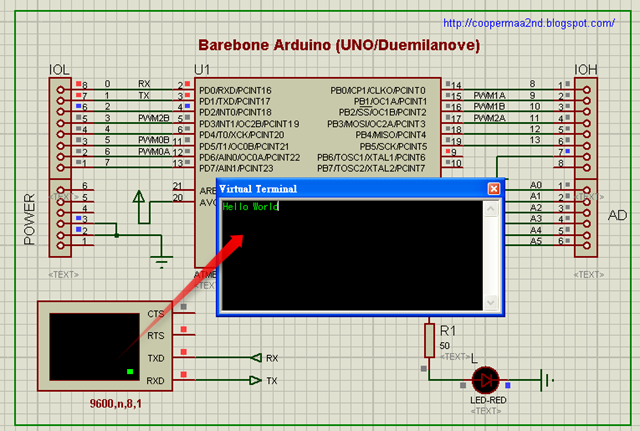 Arduino simulator Schematic 1