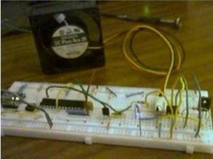 Arduino temperature controlled PC Fan